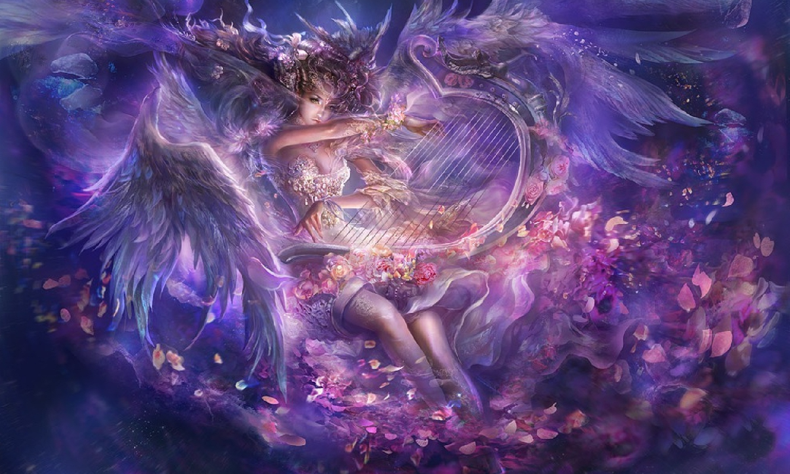 angel full hd wallpaper and background image 2613x1569