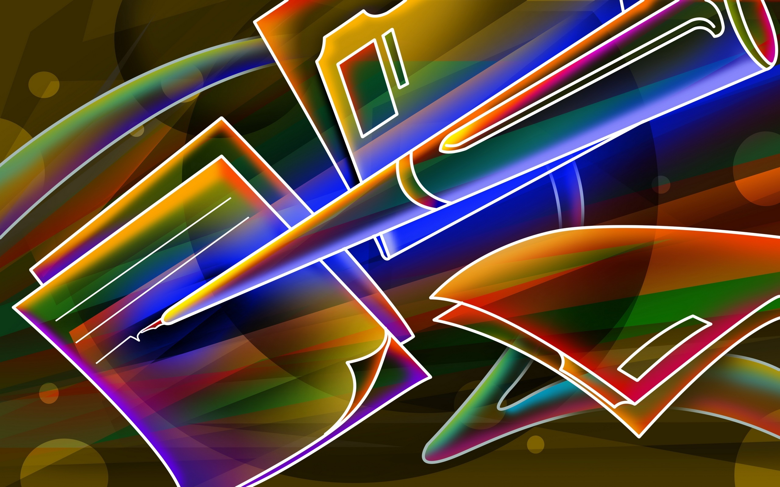Neon Hd Wallpaper Background Image 2560x1600 Id 117387 Wallpaper Abyss