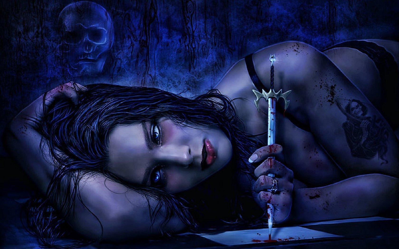Dark - Gothic  Wallpaper