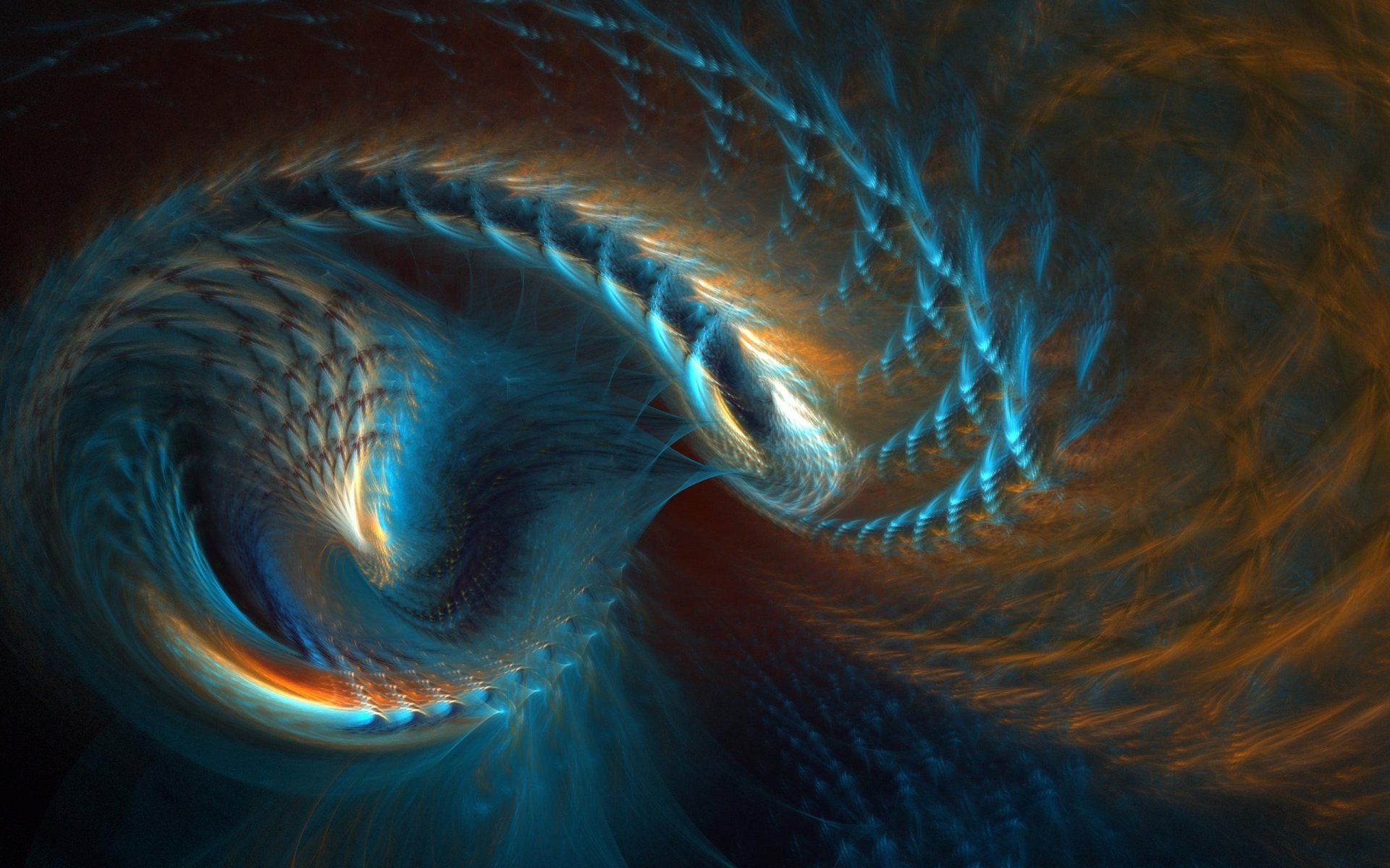Abstract - Fractal  Digital Digital Art Artistic Abstract Wallpaper