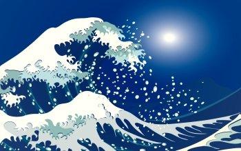 5 The Great Wave Off Kanagawa Fondos De Pantalla Hd Fondos