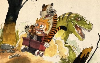 Caricatura - Calvin Y Hobbes Wallpapers and Backgrounds ID : 11727