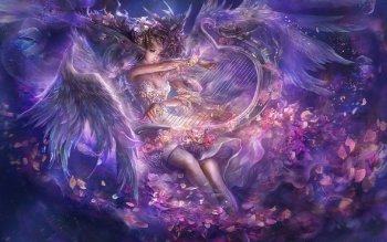 Fantasy - Angel Wallpapers and Backgrounds ID : 117295