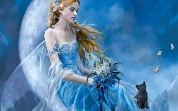 Fantasy - Women Wallpapers and Backgrounds ID : 117565
