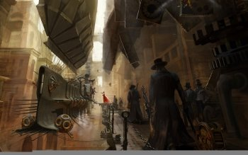 Sci Fi - Steampunk Wallpapers and Backgrounds ID : 117577