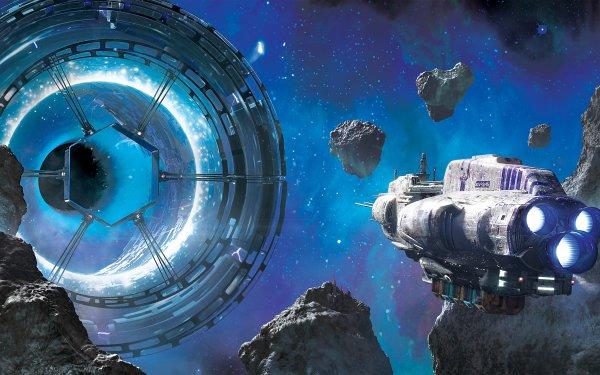 Sci Fi Portal HD Wallpaper | Background Image