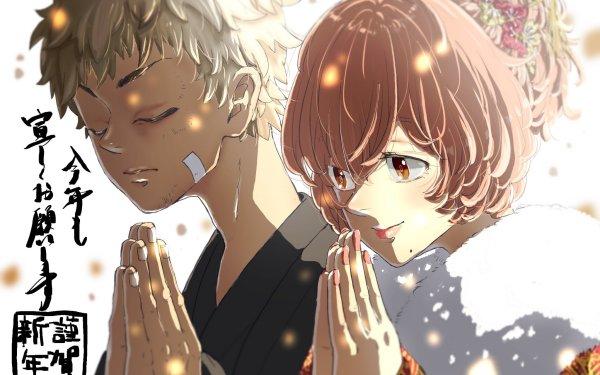 Anime Tokyo Revengers Hinata Tachibana Takemichi Hanagaki HD Wallpaper | Background Image