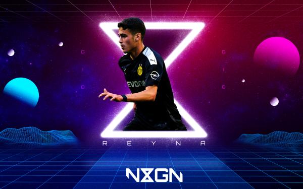 Sports Giovanni Reyna Soccer Player Borussia Dortmund American HD Wallpaper | Background Image