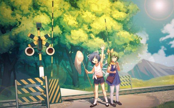 Anime Touhou Daiyousei Cirno HD Wallpaper | Background Image