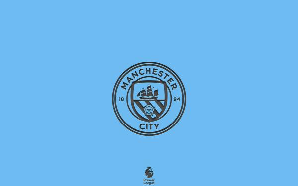 Sports Manchester City F.C. Soccer Club Logo Emblem HD Wallpaper | Background Image