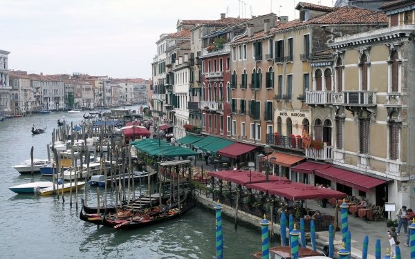 Man Made City Cities Venice Italy Grand Canal HD Wallpaper | Background Image