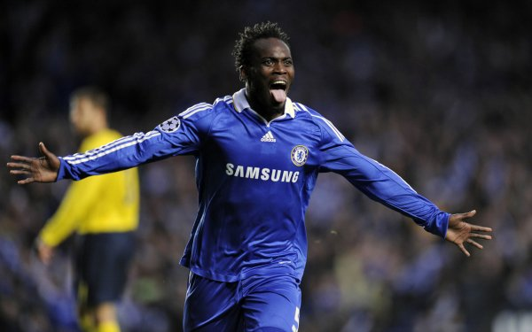 Sports Michael Essien Soccer Player Chelsea F.C. HD Wallpaper   Background Image