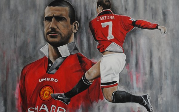 Sports Eric Cantona Soccer Player Manchester United F.C. HD Wallpaper | Background Image