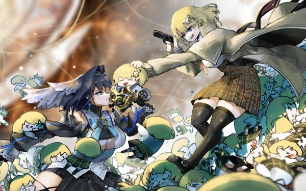 Anime Virtual Youtuber Ouro Kronii Watson Amelia HD Wallpaper   Background Image