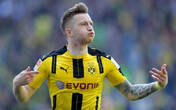 Sports Marco Reus Soccer Player Borussia Dortmund HD Wallpaper | Background Image