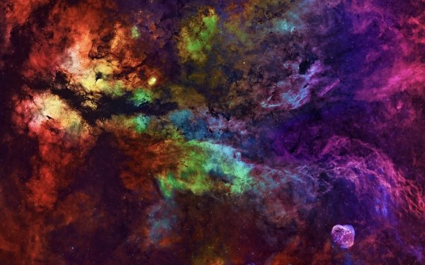 Artistic Space HD Wallpaper   Background Image