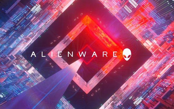 Technology Alienware Logo HD Wallpaper | Background Image