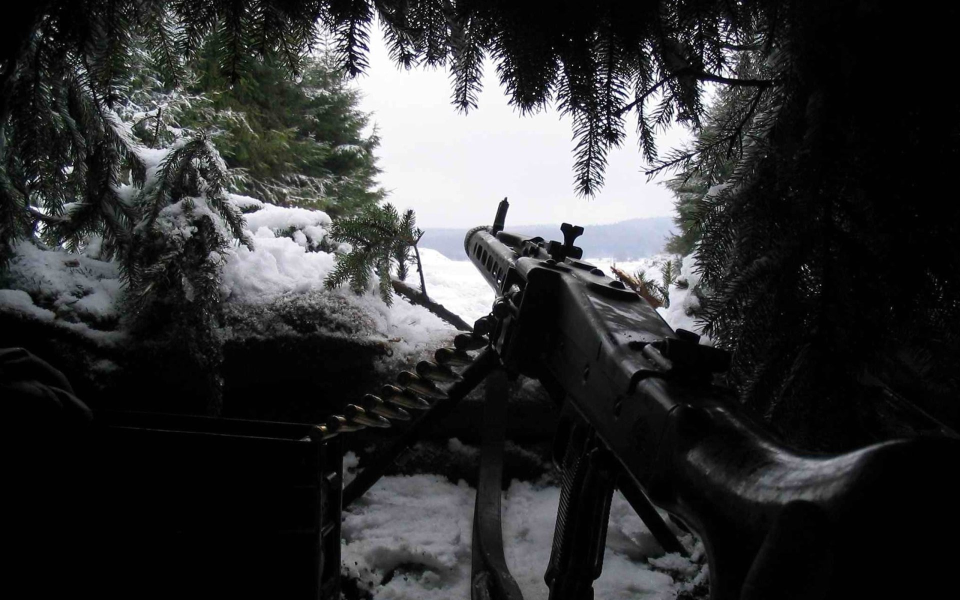 Weapons - Machine Gun  Wallpaper