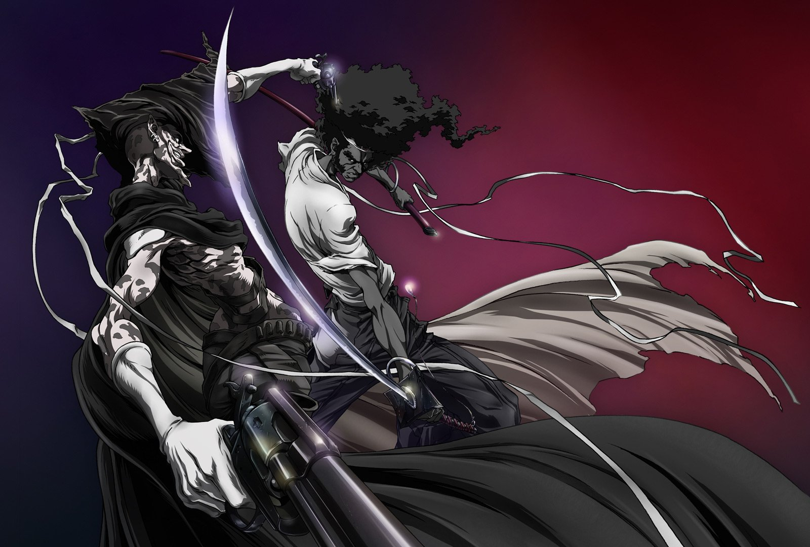 Afro Samurai Wallpaper and Background Image | 1600x1080 ...