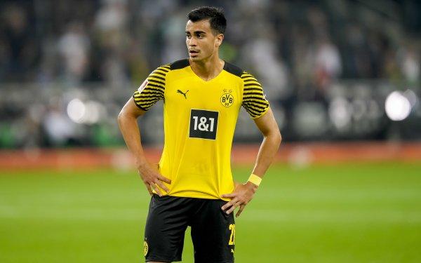 Sports Reinier Jesus Soccer Player Borussia Dortmund HD Wallpaper | Background Image