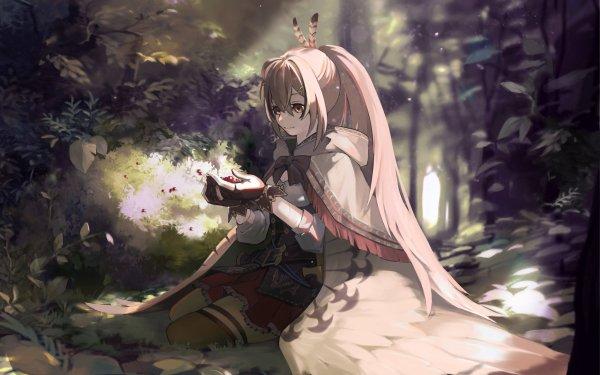 Anime Virtual Youtuber Nanashi Mumei Hololive HD Wallpaper | Background Image