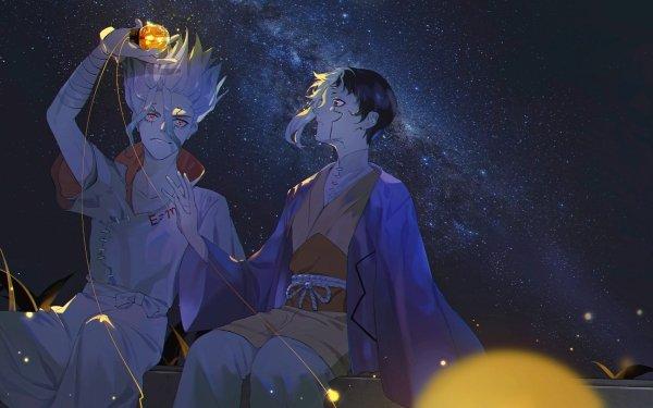 Anime Dr. Stone Gen Asagiri Senku Ishigami HD Wallpaper   Background Image