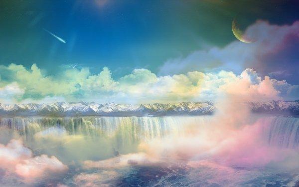 Terre/Nature Un monde de rêve Pastel Fond d'écran HD | Image