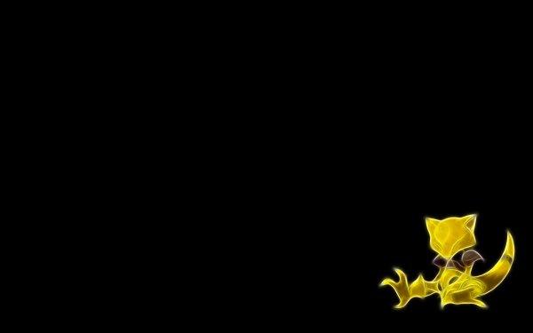 Anime Pokémon Abra Psychic Pokémon Fondo de pantalla HD | Fondo de Escritorio