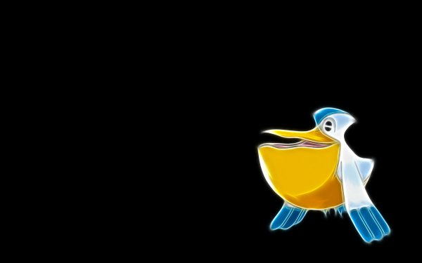 Anime Pokémon Pelipper Water Pokémon Flying Pokémon HD Wallpaper | Background Image