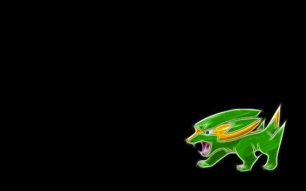 Anime Pokémon Electrike Electric Pokémon HD Wallpaper | Background Image