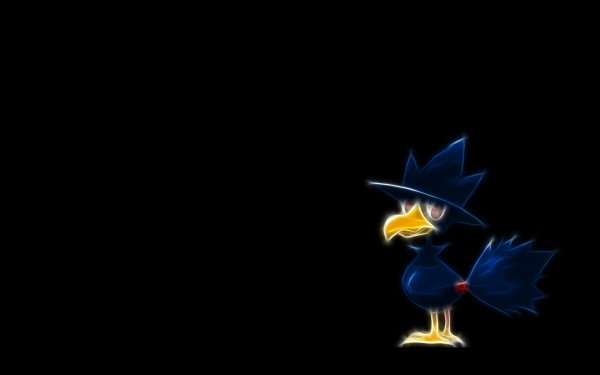 Anime Pokémon Murkrow Dark Pokémon Flying Pokémon HD Wallpaper | Background Image