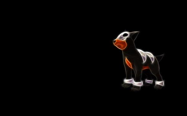 Anime Pokémon Houndour Fire Pokémon Dark Pokémon HD Wallpaper | Background Image