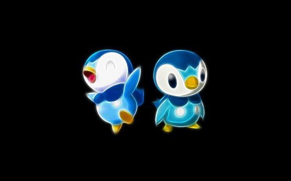 Anime Pokémon Piplup Water Pokémon Starter Pokemon Fondo de pantalla HD | Fondo de Escritorio