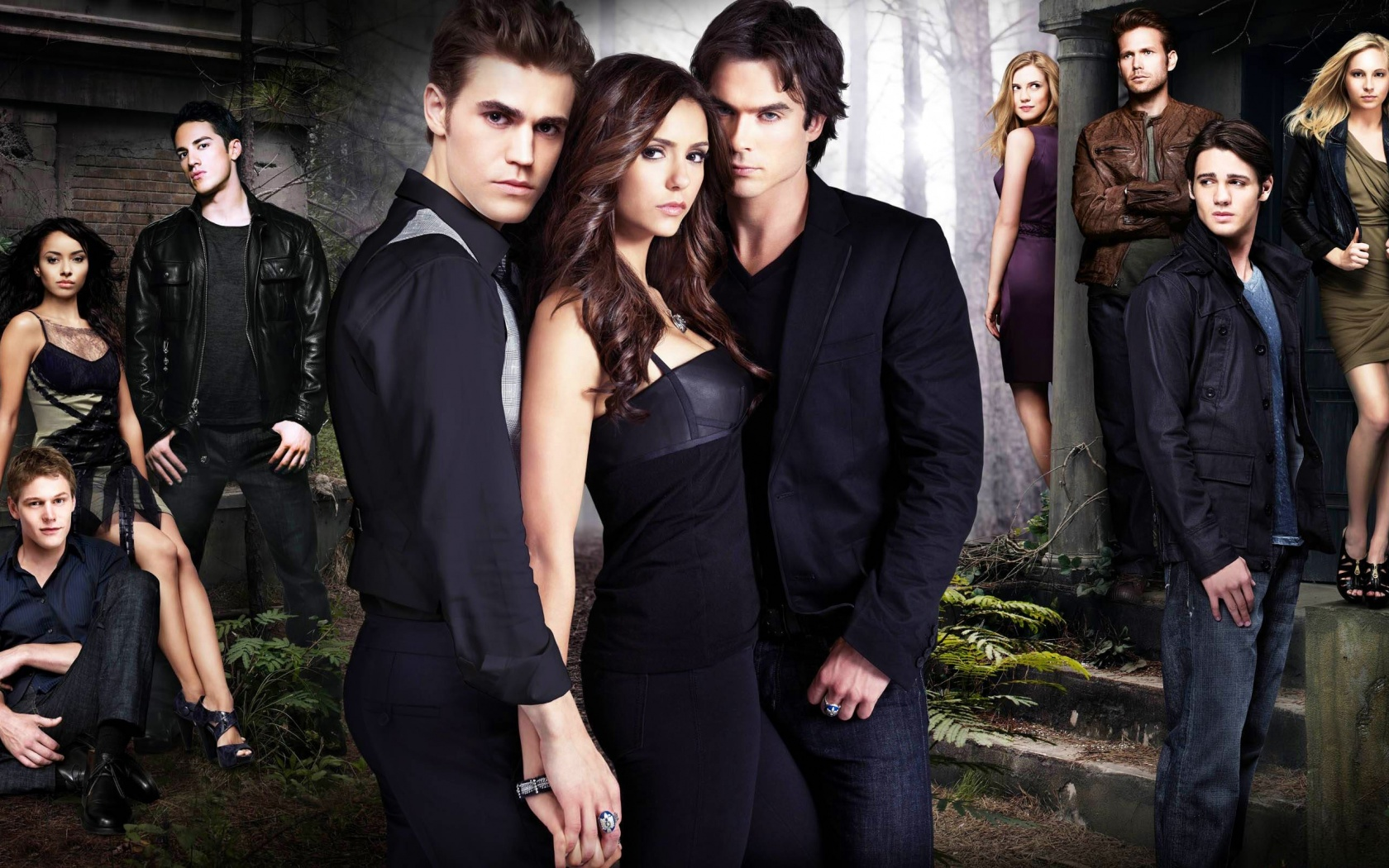 TV Show - The Vampire Diaries  Wallpaper