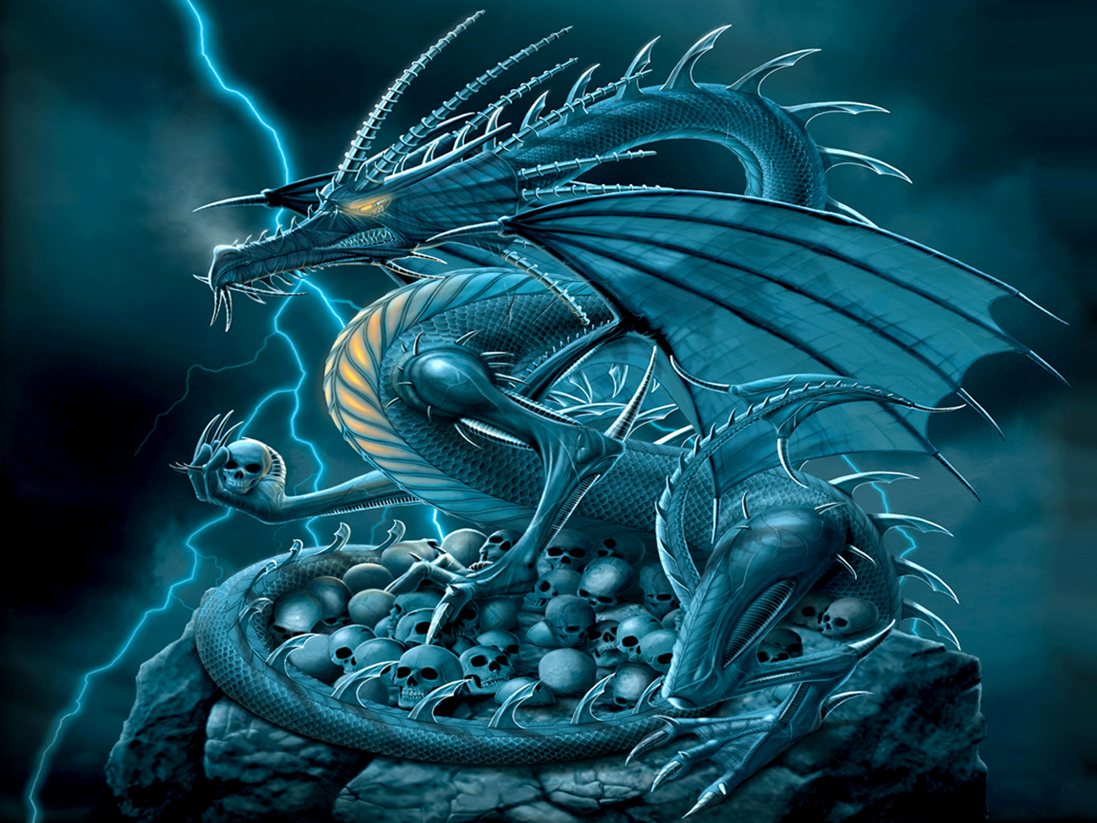 Chromium Dragon Wallpaper And Background Image