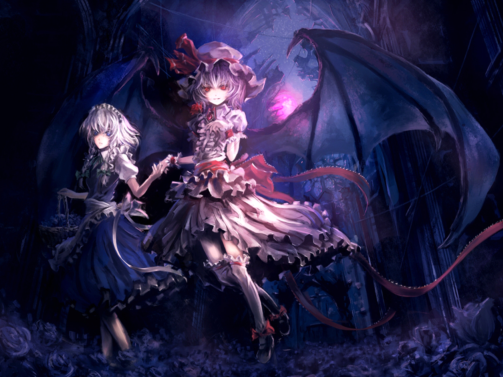 6792 touhou hd wallpapers backgrounds wallpaper abyss - Wallpaper vampire anime ...