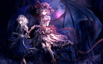 Аниме - Touhou Wallpapers and Backgrounds ID : 120557