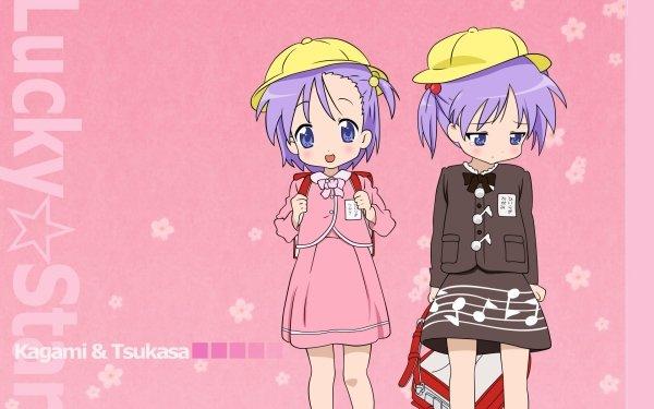 Anime Lucky Star Tsukasa Hiiragi Kagami Hiiragi HD Wallpaper | Background Image