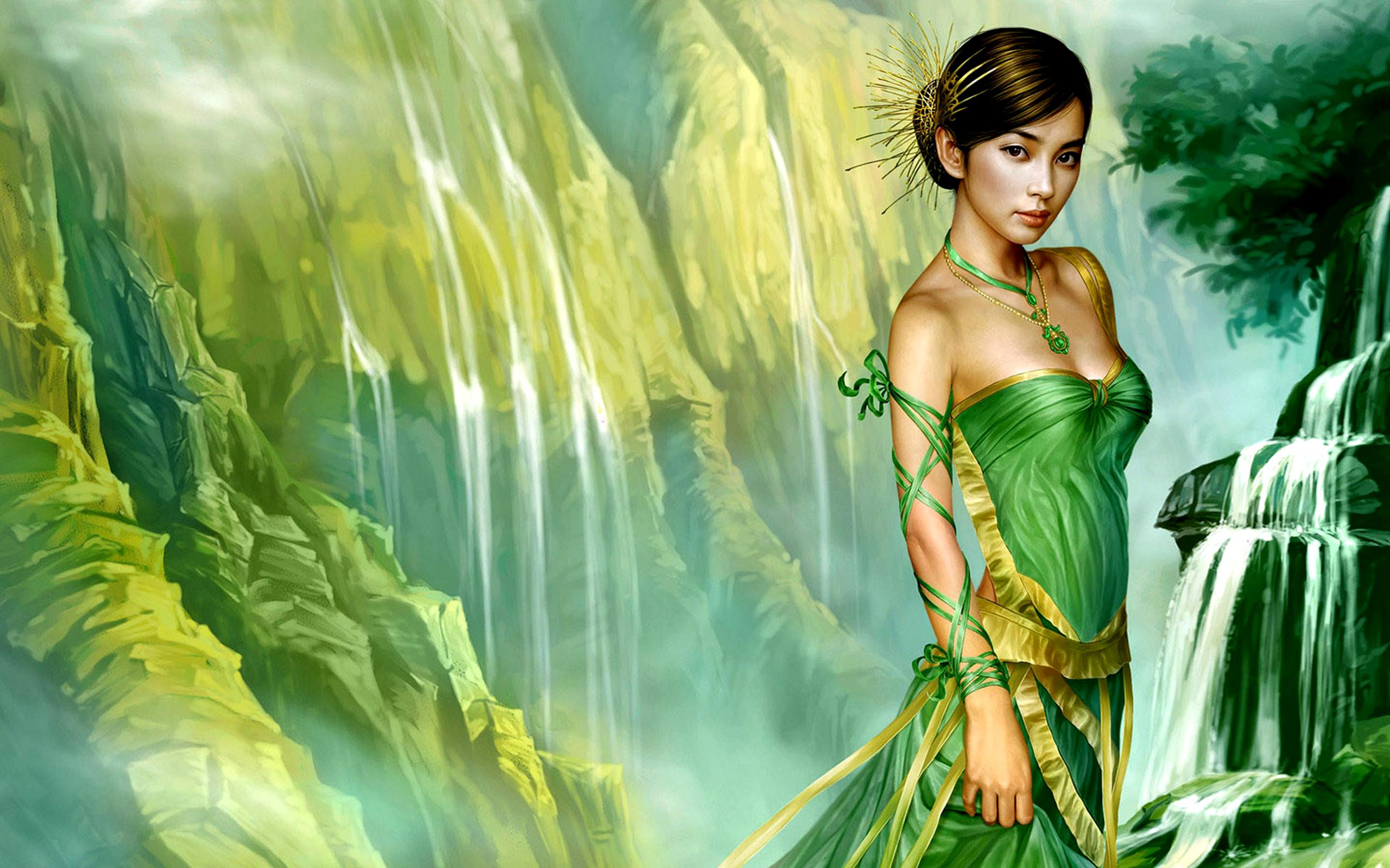 Fantasía - Mujeres  Fondo de Pantalla