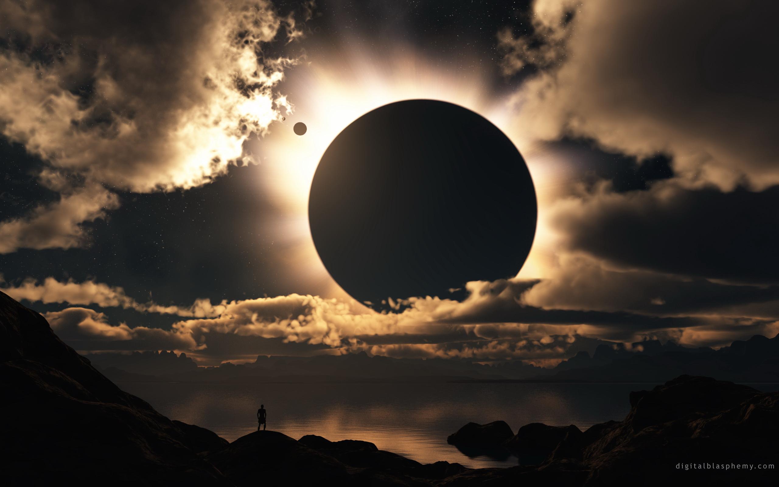 Science Fiction - Lune  Fond d'écran