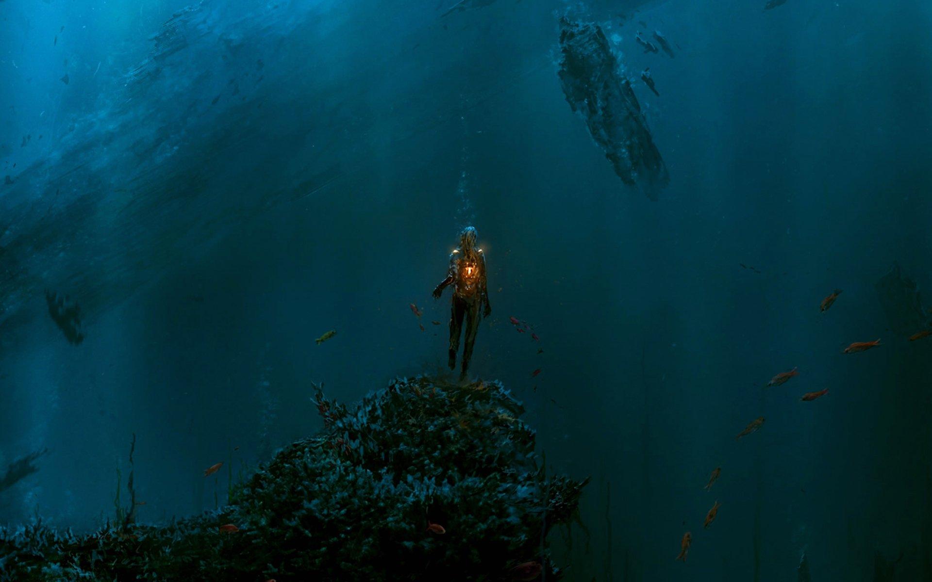 Fantaisie - Océan  Fond d'écran