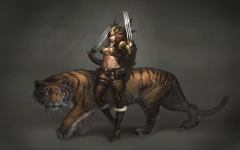 Fantasy - Women Warrior Wallpapers and Backgrounds ID : 121999