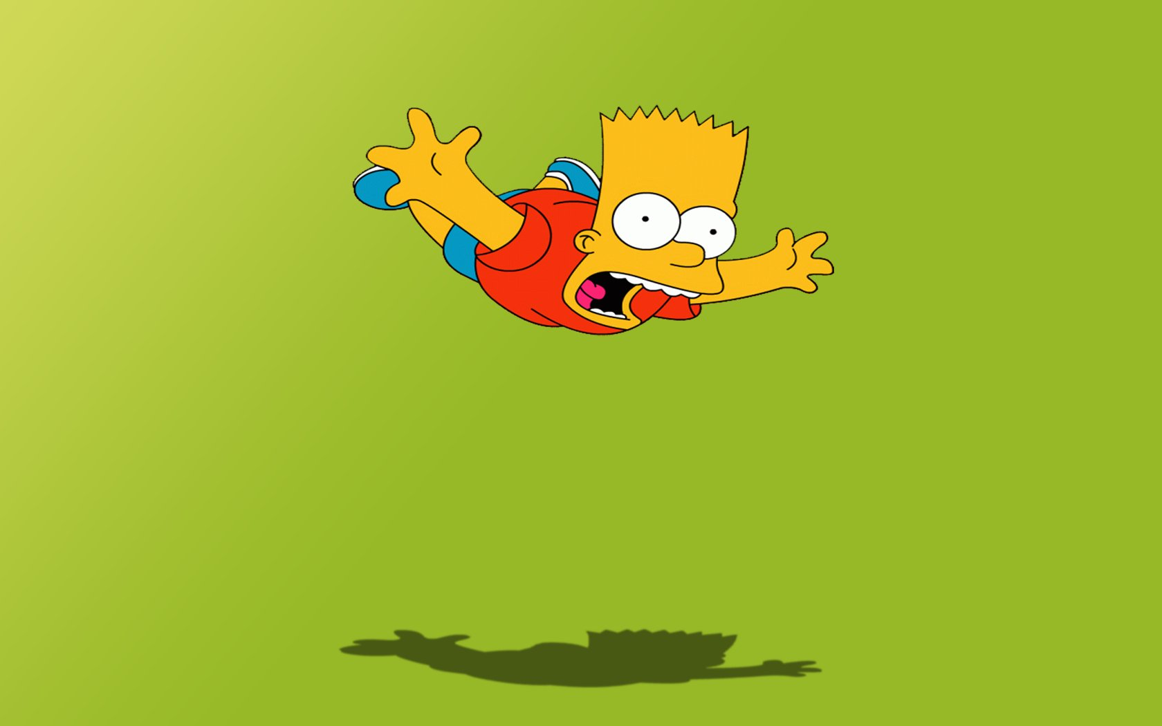 TV Show - The Simpsons  Bart Simpson Wallpaper