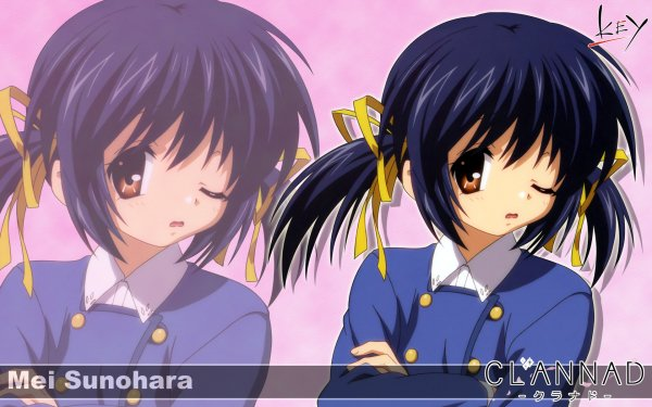 Anime Clannad Mei Sunohara HD Wallpaper | Background Image