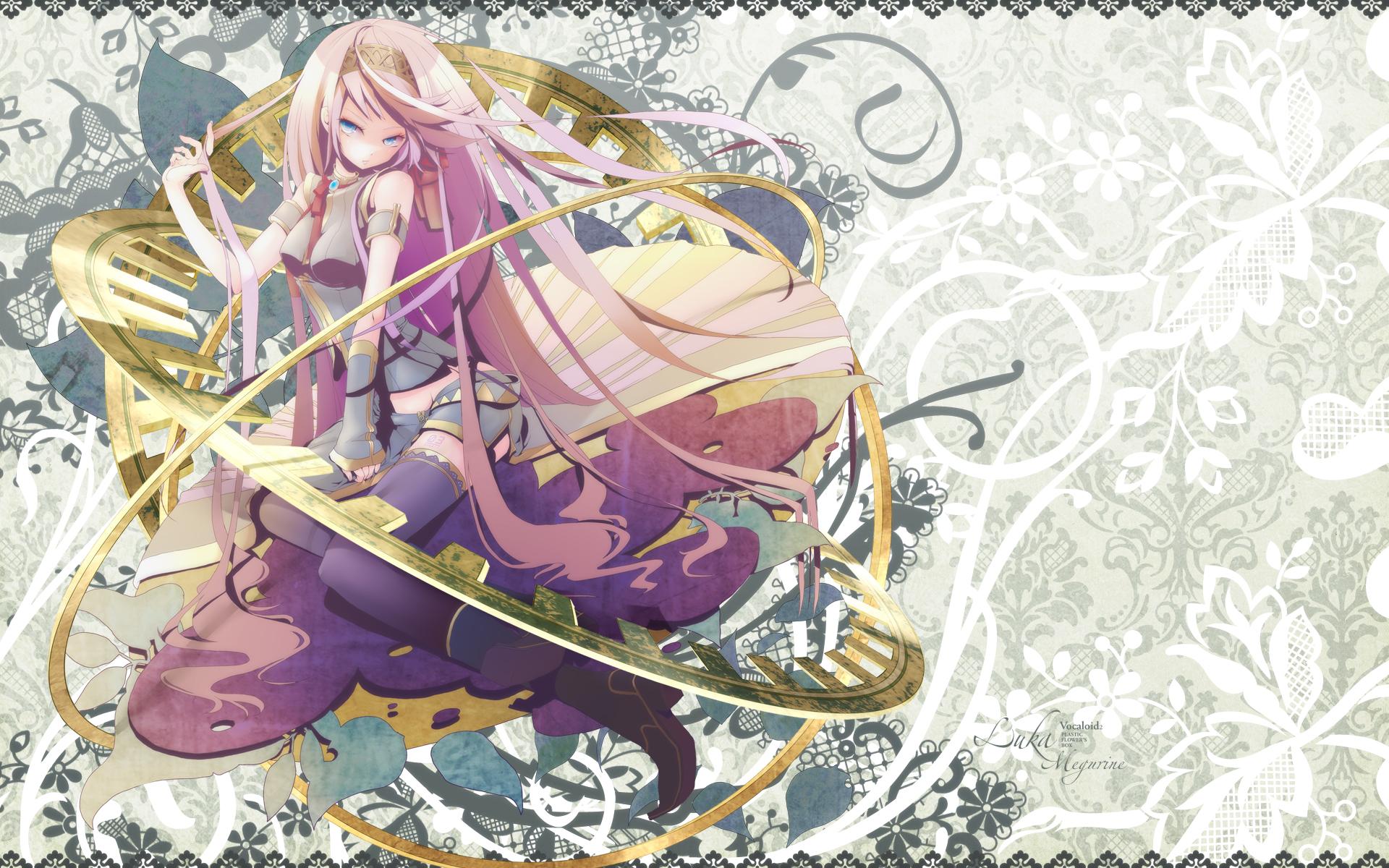 Anime - Vocaloid  - Megurine Luka - Luka - Megurine Papel de Parede