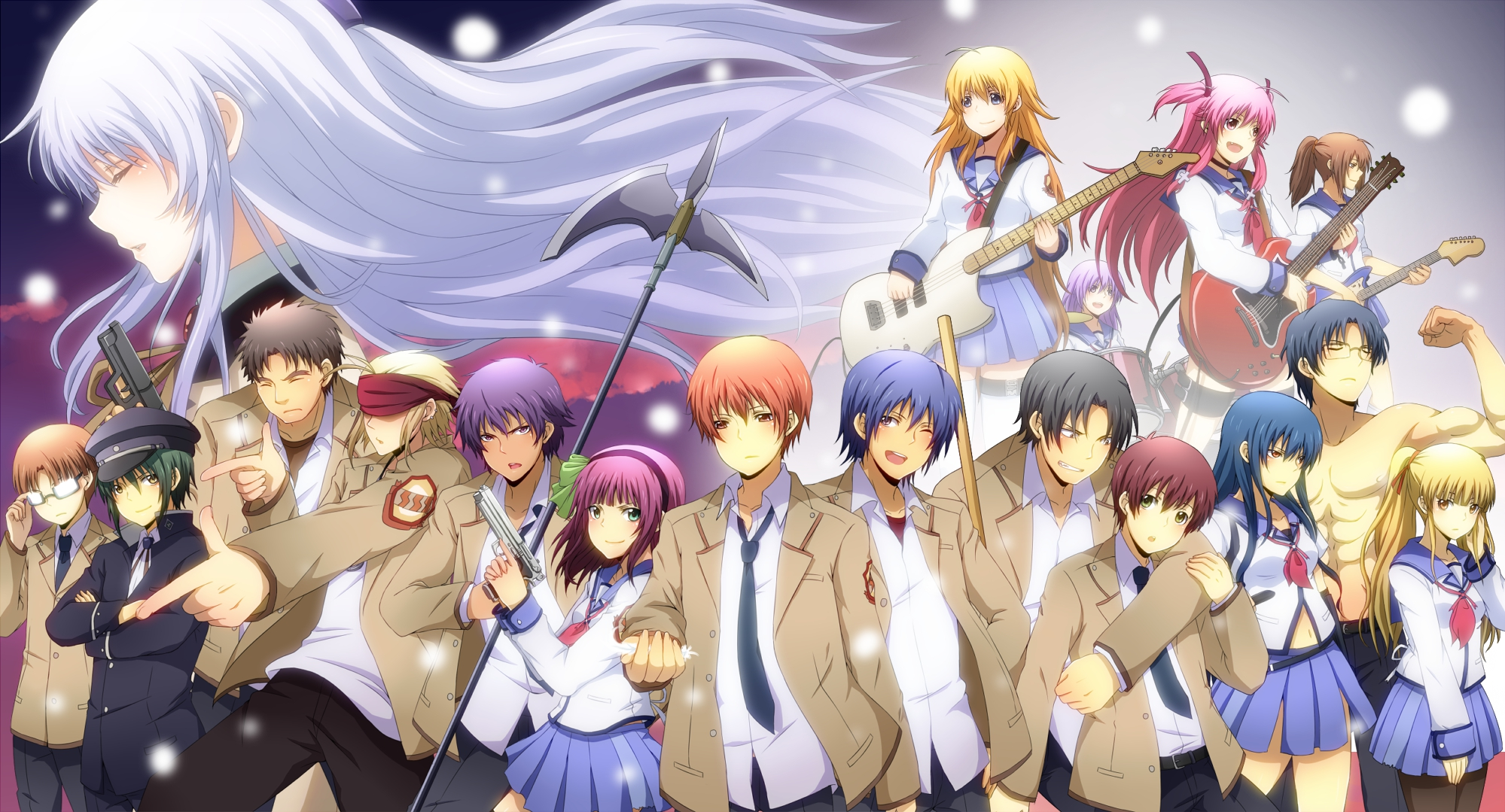 704 Angel Beats! HD Wallpapers | Backgrounds - Wallpaper Abyss