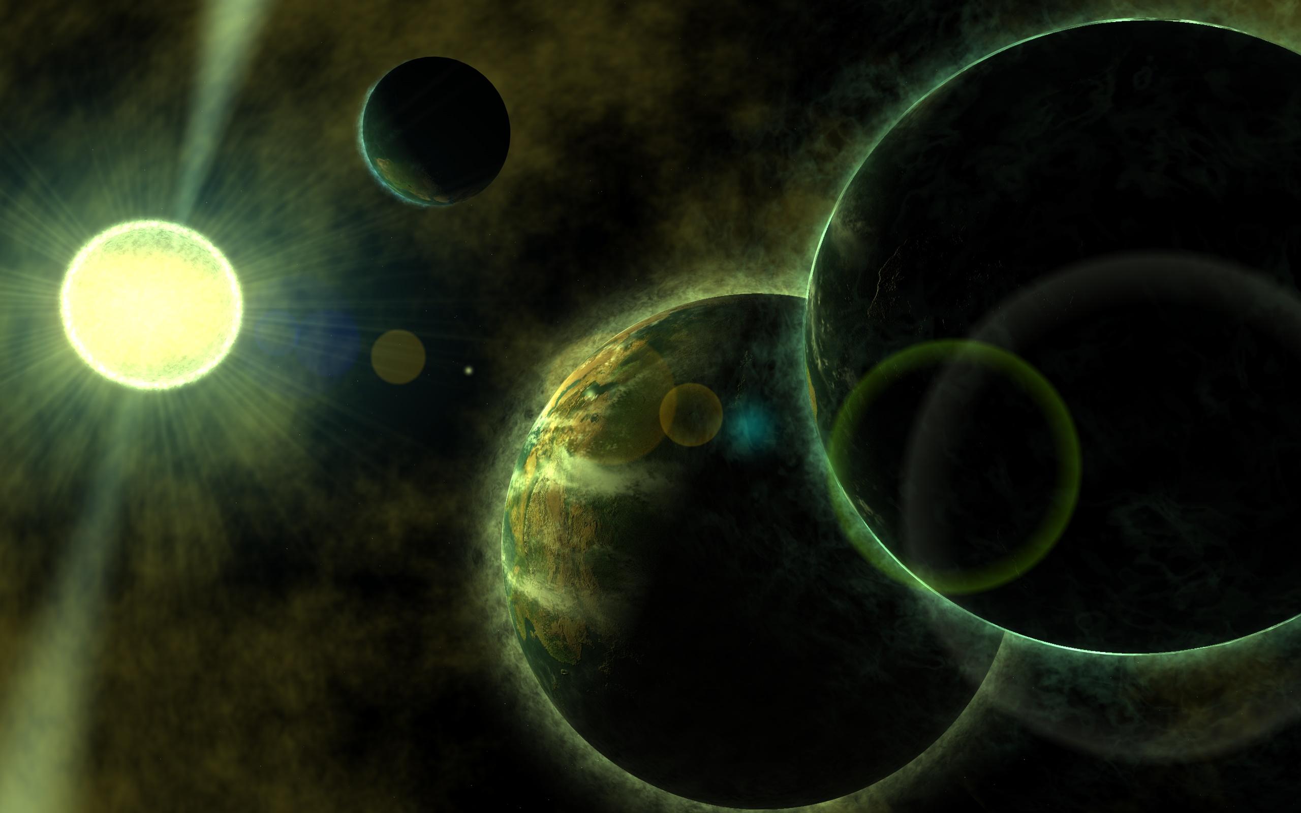 Sci Fi - Planets  Planet Wallpaper