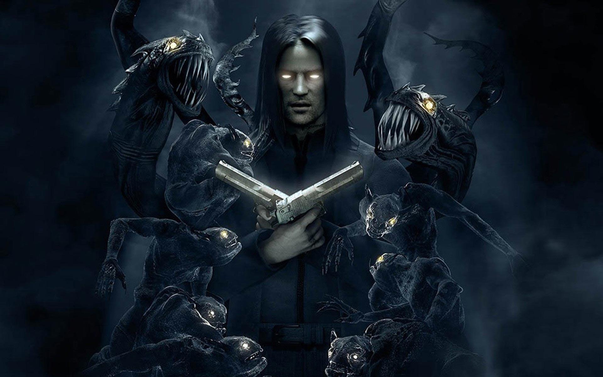Dark - Monster  The Darkness Wallpaper