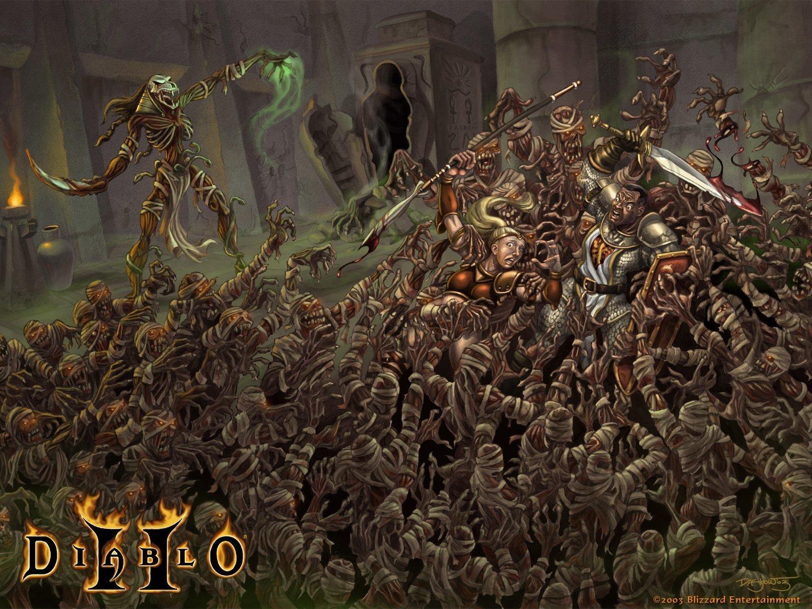 Diablo ii wallpaper and background 1600x1200 id 123385 - Diablo 2 lord of destruction wallpaper ...