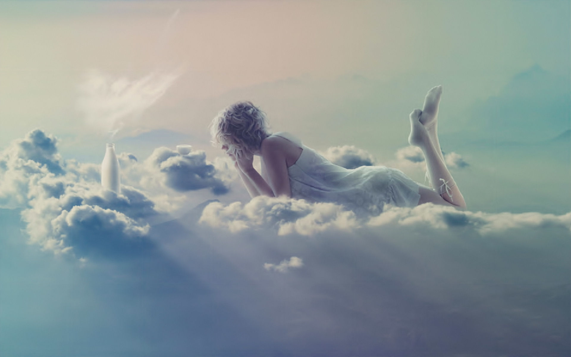 Artistic - Women  - Gothic - Cloud - Sauna - Sake Wallpaper